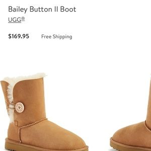 UGG boots- Bailey Button || style~ like NEW